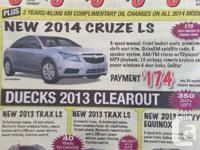 NEW 2013 CHEVROLET EQUINOX LS FOR ONLY $24,495.  CALL
