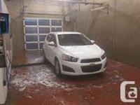 Make Chevrolet Model Sonic Year 2013 Colour WHITE kms