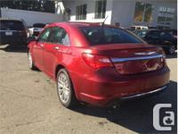 Make Chrysler Model 200 Year 2013 Colour Red kms 62837