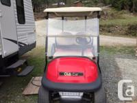 Year 2013 Colour Red Trans Automatic 2013 Club Car