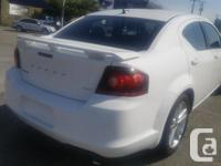 Make Dodge Model Avenger Year 2013 Colour White kms