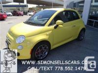 Make. Fiat. Design. 500. Year. 2013. Colour. YELLOW.