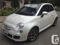 Make. Fiat. Design. 500. Year. 2013. Colour. White.