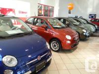 2013 Fiat 500's are all on sale to make room for 2014