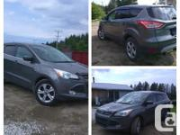 Hi, I'm selling my 2013 Ford Escape SE 4WD 2.0L