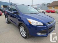 Make Ford Model Escape Colour BLUE Trans Automatic kms