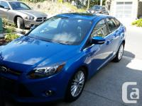 Make Ford Model Focus Year 2013 Colour Blue kms 19700