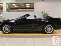 2013 FORD MUSTANG V6 PREMIUM- Convertible, Black on