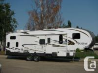 Forest Stream Wildcat 312BHX Fifth Wheel. Great family