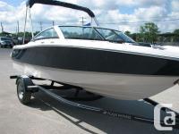 2013 Four Winns H 180 OBThe lightweight outboard engine