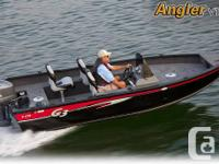 2013 Yamaha G3 Angler V170 DLX side console with a