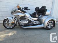 2013 GL1800 Goldwing Trike fuel: gas transmission: