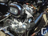 Like new, 2013 Harley Davidson Sportster XL883L. Only