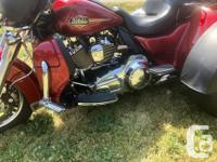 Make Harley Davidson Model Ultra Year 2013 kms 25000