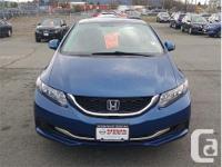 Make Honda Model Civic Year 2013 Colour Blue kms 69476