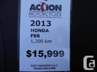 2013 Honda GL1800 F6B -ABS -AM/FM/MP3 Stereo Only 1300