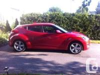 Make Hyundai Model Veloster Year 2013 Colour red kms