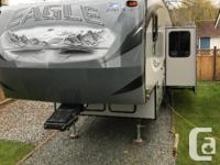 2013 Jayco Eagle 27.5 BHS Fifth Wheel Half ton towable.