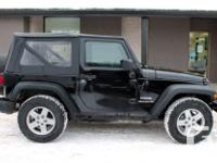 Make Jeep Model Wrangler Year 2013 Colour Black kms