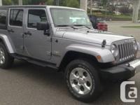 2013 Jeep Wrangler Unlimited Sahara , 4 door ,