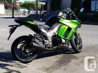 2013 Kawasaki Ninja 1000 with ABS. Mint condition