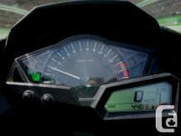 2013 Kawasaki Ninja 300 5000km All stock except Leo