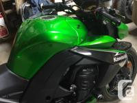 Make Kawasaki Year 2013 kms 4700 2013 Kawasaki Z1000