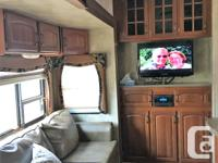 Avalanche Fifth Wheel by Keystone RV with 4 slides and