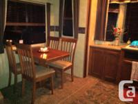 Beautifully maintained park model RV with extended on