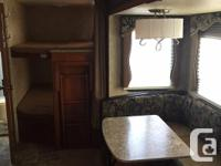 2 DOUBLE SIZE BUNK BEDS LARGE SLIDE W HORSESHOE DINETTE