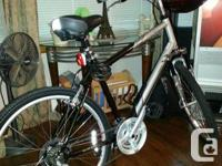 I'm sell my 2013 KHS Men's TC 150 Tour Comfort Bike 21'