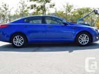 Make Kia Model Optima Year 2013 Colour Blue kms 109322