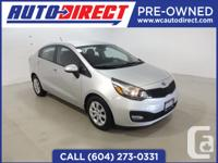 This locally owned 2013 Kia Rio LX+ comes with fog
