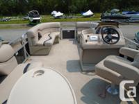 2013 Legend Genesis RE Pontoon Boat This 2013 gently
