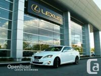 2013 Lexus IS 350C Convertible/Hardtop F Sport package