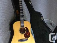 D18 Martin Dreadnaught - an amazing acoustic guitar. if