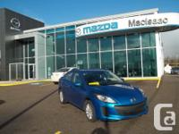 Make Mazda Version 3 Year 2013 Colour BLUE kms 22500