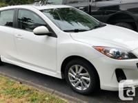 Make Mazda Model 3 Year 2013 Colour White Pearl kms