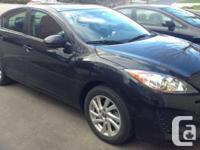 Make. Mazda. Model. 3. Year. 2013. Colour. Black. kms.