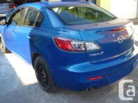 Make Mazda Model 3 Year 2013 Colour BLUE kms 9220