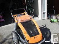 Double Stroller Bike Trailer For Sale Buy Sell Double Stroller