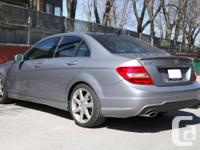 LIKE NEW, fully loaded Mercedes Benz C350 4Matic in a