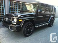 For sale is a 2013 Mercedes Benz G63 AMG The ultimate