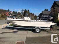 Great little fishing/cruising boat. Includes two down