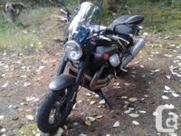 kms 9300 2013 Moto Guzzi Griso 1200se 8V Great stock