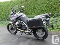 Make Moto Guzzi Model Stelvio Year 2013 kms 46 A great
