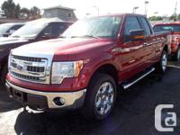 BRAND NEW 2013 FORD TRUCK F150 XLT 4X4 SCAB 6.5FT