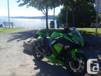 Make Kawasaki Mint 2013 Ninja 300 special edition, Leo