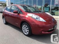 Make Nissan Model Leaf Year 2013 Colour Red kms 48950
