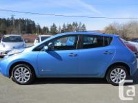 Make Nissan Model Leaf Year 2013 Colour BLUE kms 62894